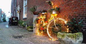 Kerstfiets van de Emauspoort